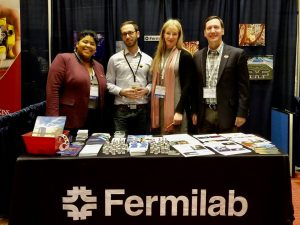 Photo of Fermilab at oSTEM Conference