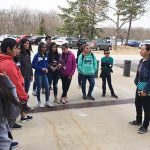 fSHPE's Jeny Teheran, Tour for Thompson Middle School